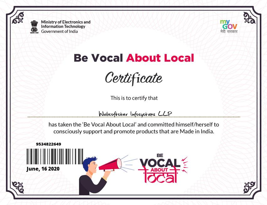 Local to Vocal